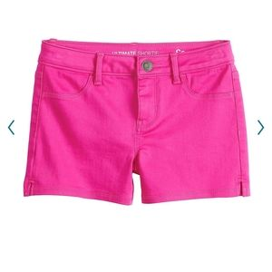*NEW* SO BRAND GIRLS SIZE 16 PINK SHORTIE SHORTS